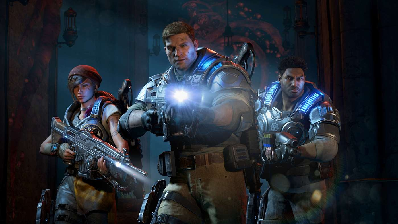 can gears 4 pc download to xbox