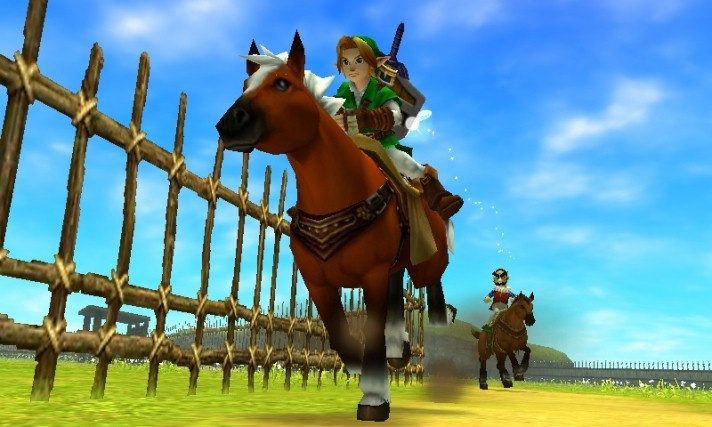The Legend of Zelda : Ocarina of Time 3DS (Europe)