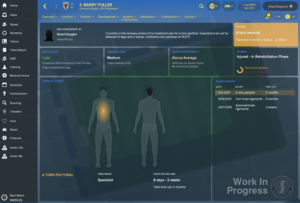 Football Manager 2018 (Europe)