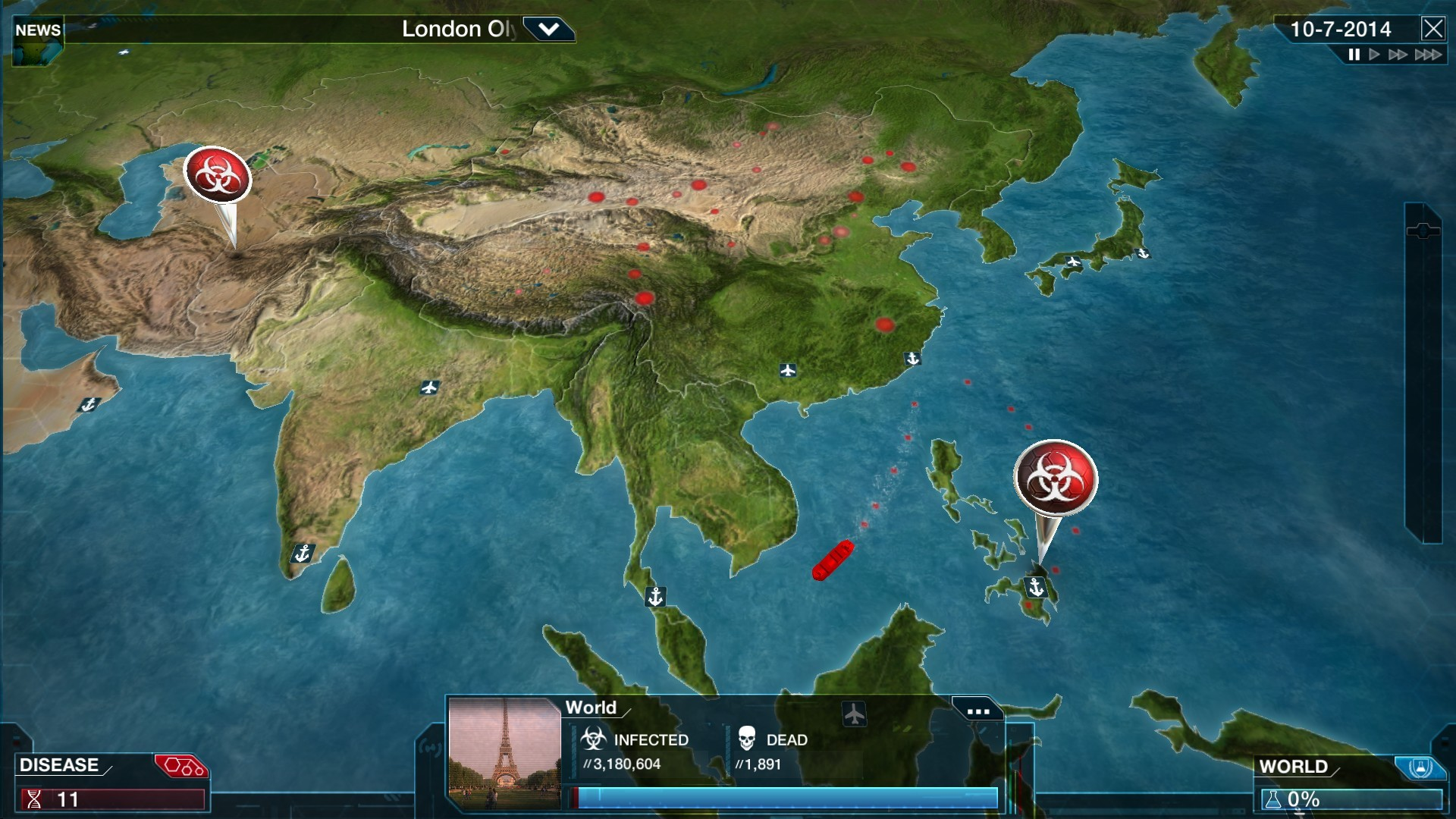 Image of: Buy Plague Inc Evolved Steam