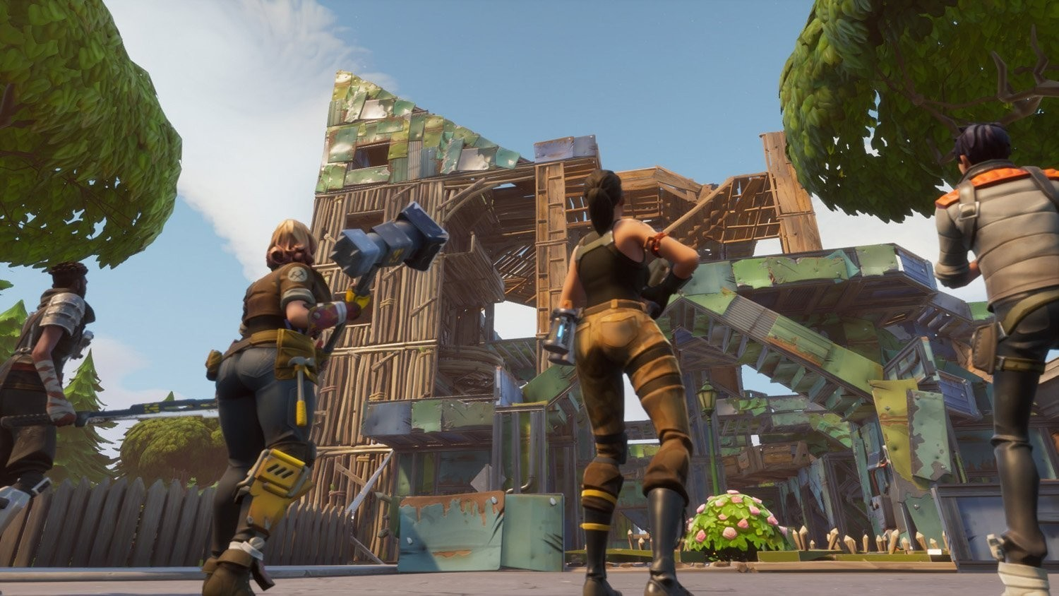 fortnite screenshot 1 fortnite screenshot 2 - fortnite clac ami ps4