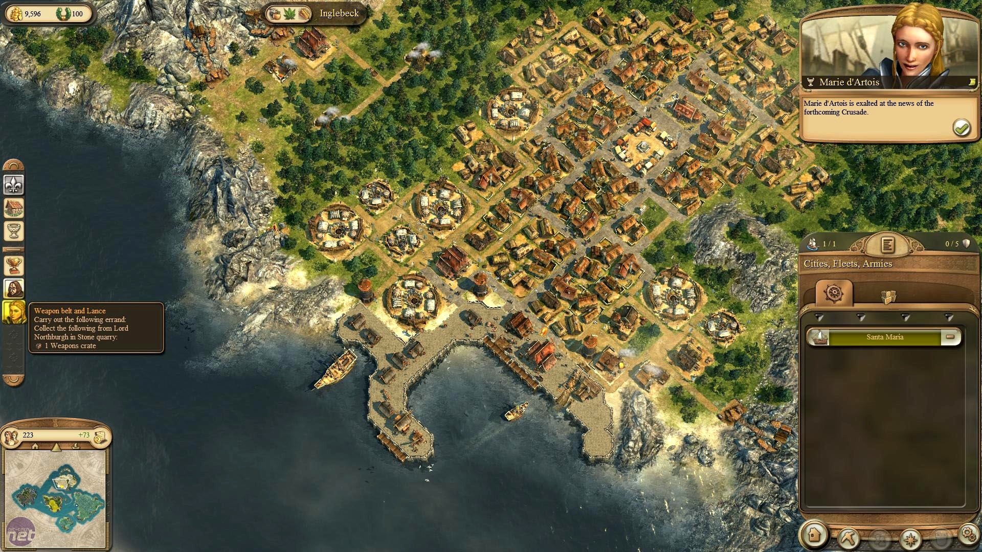 Pc Game Database: Anno 1404 Wallpaper | 1080x1920