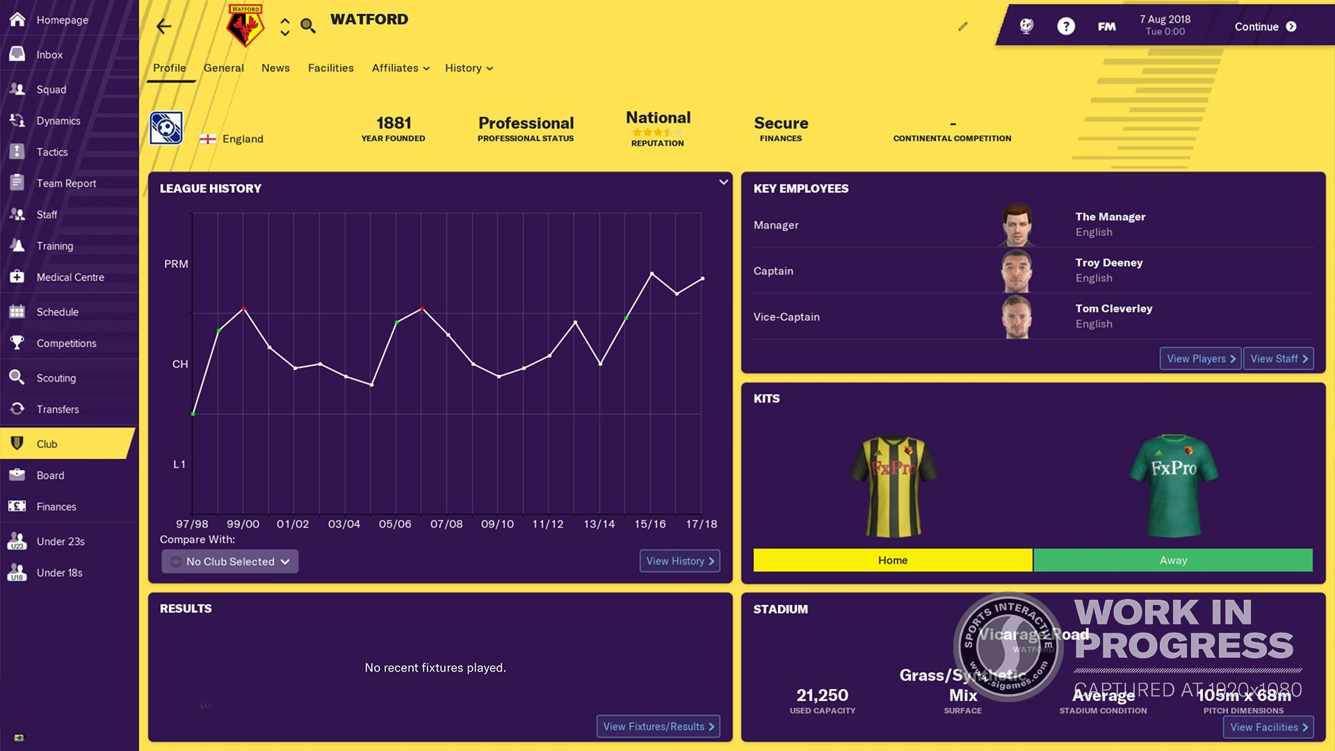 Football Manager 2019 Europe