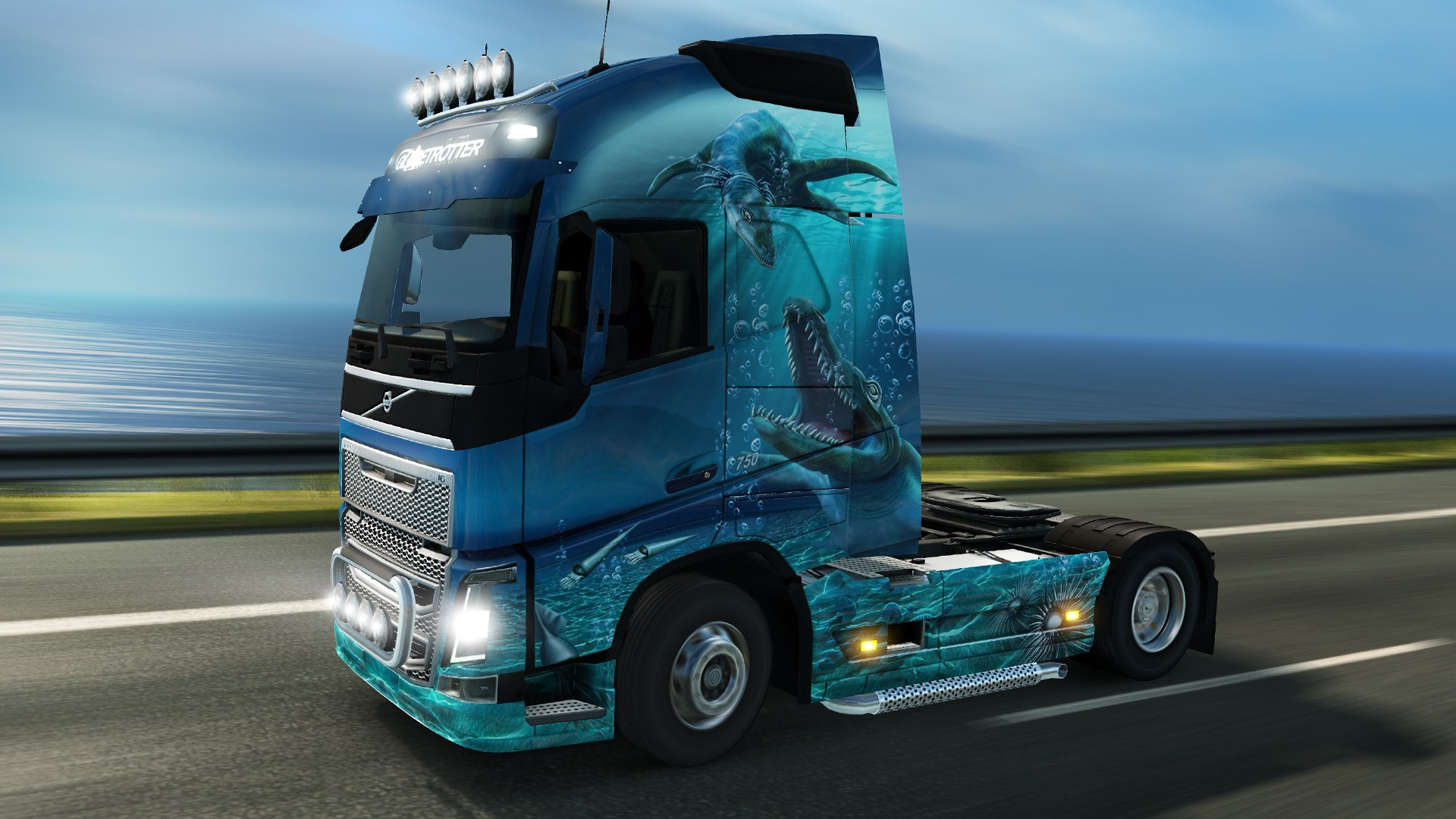 Euro truck simulator 2 - space paint jobs pack download free download